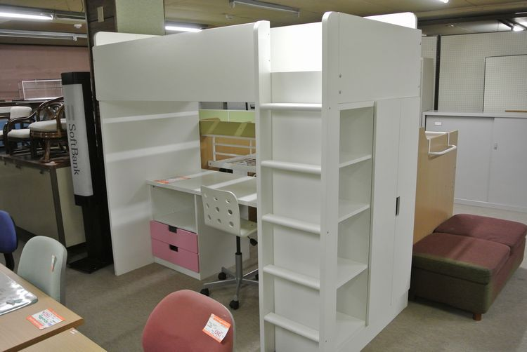 イケアのロフトベッド【鶴岡市 リサイクルショップ】   リサイクル